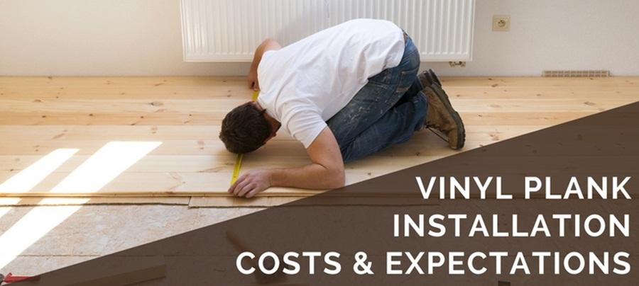 How To Install Floor Vinyl Plank Fast, Vinyl Laminate Flooring Installation Cost